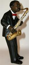 LARGE 17.5cm JAZZ BAND SAX PLAYER Saxophone Rock Music Figure