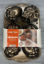 NORDIC WARE AUTUMN TREATS HEAVY CAST ALUMINUM PAN MADE IN THE USA FREE SHIPPING