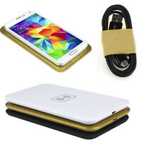 Qi Wireless Charger Transmitter Charging Pad For Samsung Galaxy S3 S4 S5 Tide