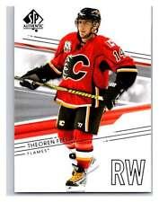 (HCW) 2014-15 Upper Deck SP Authentic #119 Theoren Fleury Flames NHL Mint