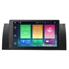 """Android Autoradio 9"""" GPS Navi Bluetooth für BMW 5er E39 X5 E53 M5 7er WiFi DAB+"""