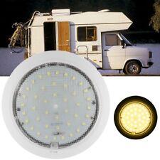 2 Stück 12V LED Deckenlampe Rund Deckenleuchte für Wohnwagen RV Boot Yacht,