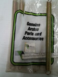 0112-232 NEW MUFFLER SPRING FOR SOME 1974>91 ARCTIC CAT SLEDS FREE FRT