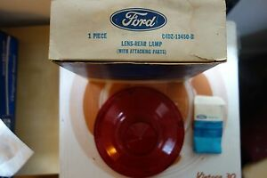 1964 Ford Falcon Taillight Lens C4DZ-13450-B NOS Ford