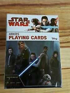 Star Wars Heros Playing Cards