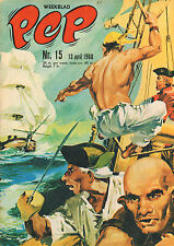 PEP 1968 nr. 15 - ROODBAARD (COVER) / LAMBORGHINI / VARIOUS COMICS