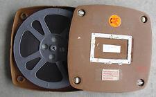 Vintage 16mm Movie Film in Plastic Box - Sure Foundation