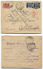 DA COSENZA A COSTANTINOPOLI, OTTICO RIZZO, 2 X C20 SU C25 MICHETTI + C60, 1925 m