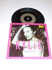 "Kylie-What Kind of Fool-supprimé 1990 UK 2-track 7"" vinyl single"