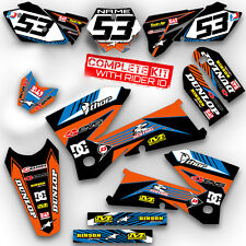 2002 2003 2004 2005 2006 2007 2008 SX 65 GRAPHICS KIT KTM SX65 65SX DECO sticker