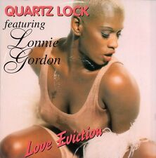 "Quartzlock feat. Lonnie Gordon - Love Eviction 4 Extended Remixes - 12"" 1995"