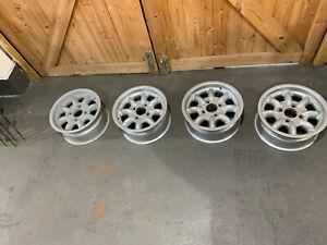 Escort mk1 minilite magnesium wheels