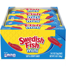 SWEDISH FISH Mini Soft and Chewy Candy (2 oz., 24 pk.)