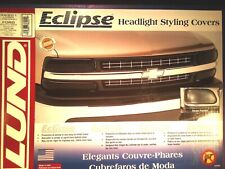 Ford Pickup & Series Bronco 92-96 Headlight Styling Covers- 36201 Lund (Smoke)