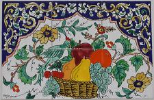 Fliesenbild Keramikfliesen Orient Handbemalt Wandfliesen Mediterran Mosaik 06 05