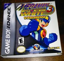 Mega Man Battle Network 3: White Version, Nintendo Game Boy Advance GBA complete