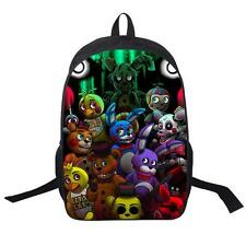 Five Nights At Freddy's Freddy Backpack Chica Foxy Bonnie FNAF Shoulder Bags FDS