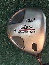 Titleist Titanium 975D Driver 10.5* Regular Flex Graphite Shaft RH