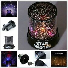 Sky Projector Starry Night LED Lamp Star Light Cosmos Master Decor Romantic Gift