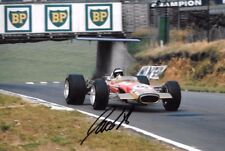 Jackie Oliver Firmado Lotus 49B British Grand Prix Brands Hatch 1968