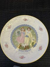 Royal Doulton Valentine's Day Plate 1976