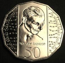 **1995  Australian Weary Dunlop  50cent  Specimen **