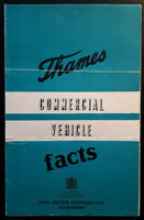 Ford Thames Commercial Vehicle Facts Brochure c.1952