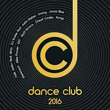 Dance CLUB 2016 2 CD NUOVO Sean Paul/Flume/Alan Walker/Tiesto/Avicii/+