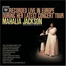 Recorded Live in Europe During Her Latest Concert Tour by Mahalia Jackson CD