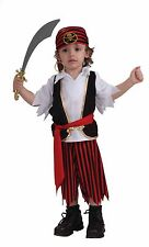 Child LIL' PIRATE BOY Complete Halloween COSTUME Buccaneer Caribbean Sailor 2-4