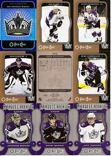 2007-08 OPC O-Pee-Chee Los Angeles Kings Master Team Set w/ Foil CL (24)