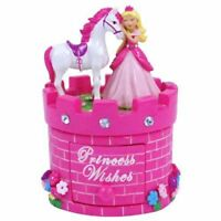 Pink Princess and White Hoarse Jewelry and Trinket Treasure Gift Box