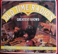 Old Time Radios Greatest Shows 20 Audio Cassettes 60 Programs 30 Hours