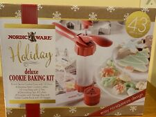 Nordic Ware Delux Cookie Making Kit 43 Piece Set w 4 Extra Cookie Cutters