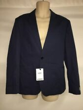 Express Mens Blazer 36 Short Suit Jacket Blue Photographer Slim Fit NWT