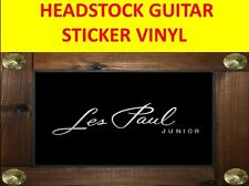 LES PAUL JUNIOR SILVER HEADSTOCK STICKER VISIT OUR STORE WITH MANY MORE MODELS