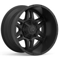 "4-TIS 538B 17x9 6x135/6x5.5"" -12mm Satin Black Wheels Rims 17"" Inch"