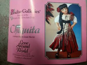 "30"" Paradise Galleries Doll -Chiquita - By Linda Murray - Love Around the World"