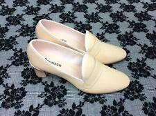 Repetto Elvis Nude Loafer Chunky Heel shoe Size EU 41 Slip On Pump