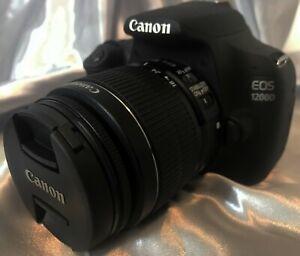 ⚡ Canon EOS 1200D Digitalkamera + EF-S 18-55mm 1:3.5-5.6 IS II - 1536 Auslösung⚡