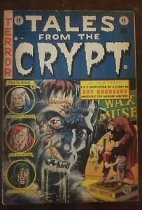 TALES FROM THE CRYPT #34 - JACK DAVIS - GRAHAM INGELS - RAY BRADBURY 1953! Nice!