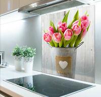 60cm x 75cm Digital Print Glass Splashback Heat Resistant  Toughened 029