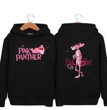 New Anime Pink Panther hoodie sweater coat Sportswear Unisex Warm Sportswear