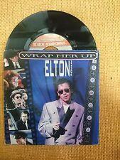 DISCO 45 GIRI ELTON JOHN RESTLESS WRAP HER UP ROCKET RECORD COMPANY 1985 VG+/VG+