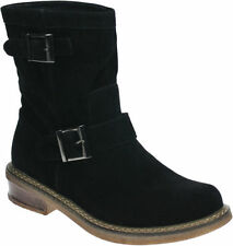 Solid Mid-Calf Casual Women's Boots