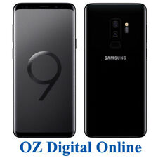 "NEW Samsung Galaxy S9+ Plus G965 64GB Black 12MP 4G LTE 6.2"" Unlocked Phone"