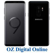 "NEW Samsung Galaxy S9+ Plus G965 64GB +128GB Black 12MP 4G 6.2"" Unlocked Phone"