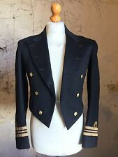 Vintage Ww1 Bespoke Doe Skin Naval Navy Mess Kit Jacket Size 38 Long