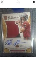 Mike Glennon 2013 Crown Royale Prime Silhouette Auto Patch RC #/299