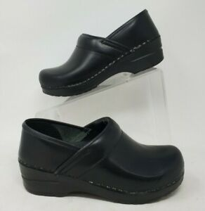 SANITA Black Classic Clogs ShoesProfessional shoes size 36  US 6